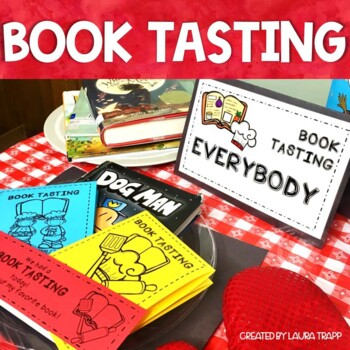 Book Tasting Event Kit