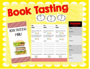Book Tasting: Exploring New Books in Your Classroom