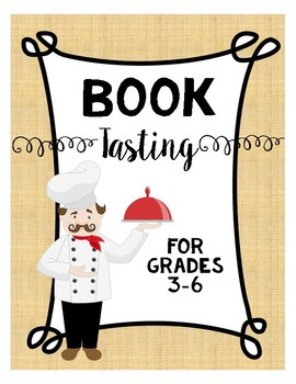 Book Tasting For Grades 3-6