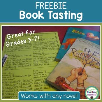 FREE Book Tasting