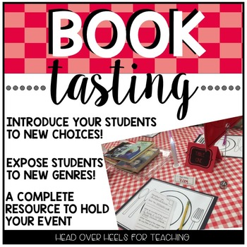 Book Tasting: Introduce Your Students to New Books