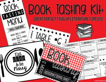 Book Tasting Kit (Book Tasting Menu - Literature Circles)