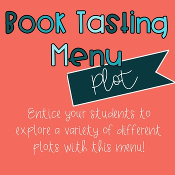 Book Tasting - Plot