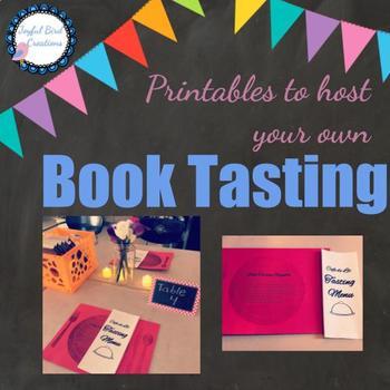 Book Tasting Printables