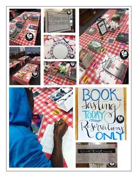 Book Tasting Resource