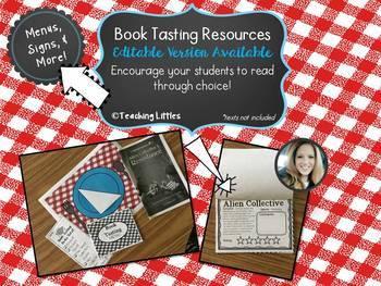 Book Tasting Resources