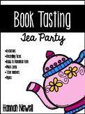 Book Tasting Tea Party