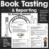 Book Tasting and Reporting