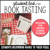 Book Tasting for Middle School