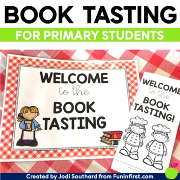 Book Tasting for Primary Students