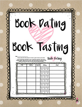 Book Tasting or Book Dating