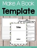 Make A Book Template