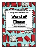 Book Test and Key for Word of Mouse created by Jean Martin
