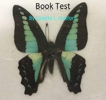 Book Test for The Avery Shaw Experiment