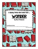 Wonder, by R.J. Palacio: Book Test & Key by Jean Martin
