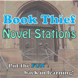 Book Thief Novel Stations:  CCSS-based, fun, creative
