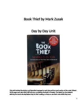 Book Thief Prologue through Part 7 Unit Plan