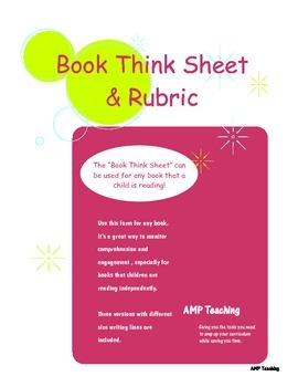 Book Think Sheet
