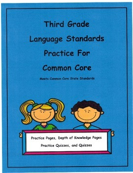 3rd Grade Language for Common Core  Unit 8  L3.2a  L3.2b Depth of Knowledge
