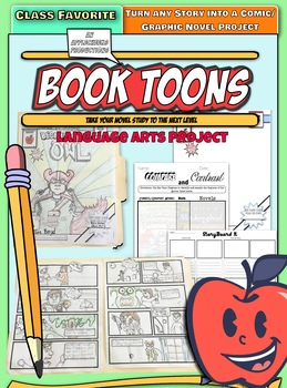 Book Toons: Turn any reading material into a cool comic strip project