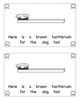Book - Toothbrushes for my family and me!