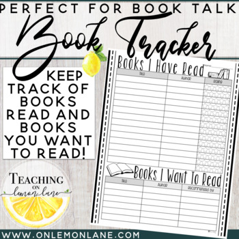 Book Tracker (Books I Have Read, Books I want to Read) Rating & Reccommendation