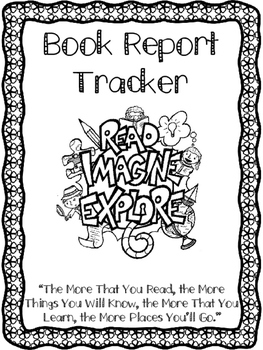 Book Tracking Binder Pages