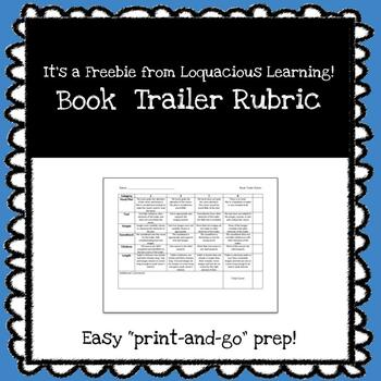 Book Trailer Rubric (Middle School and High School)