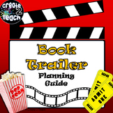 Book Trailer Storyboard Template and Graphic Organizer