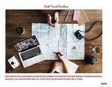 Book Travel Brochure with Rubrics!