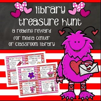 Book Treasure Hunt - A Reading Reward