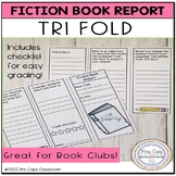 Book Trifold for Fiction