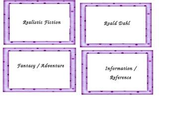 Book Tub Labels