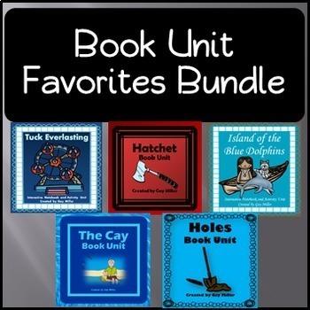 Book Unit Favorites Bundle