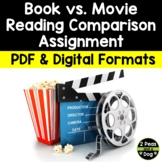 Book Versus Movie Comparison Analysis Project   Distance Learning