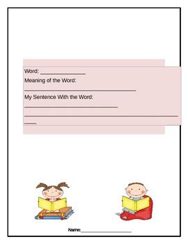 Book Vocabulary