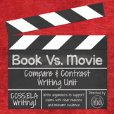 Book Vs. Movie: Writing a Compare and Contrast Opinion Essay