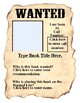 Book Wanted Poster Using Fill-in Forms