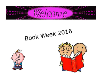 World Book Day/Book Week 2016 Assembly/Classroom Activity