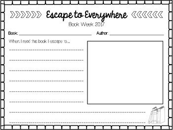Book Week 2017 'Escape to Everywhere'