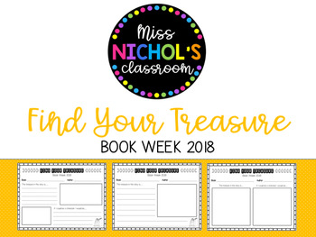 Book Week 2018 'Find Your Treasure'