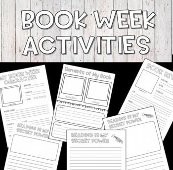 Book Week 2019 Activities
