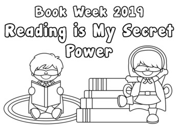 Book Week 2019 - Reading is My Secret Power - An EYLF Resource