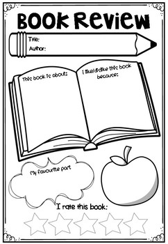 Book Week Activity Pack - Free Sample