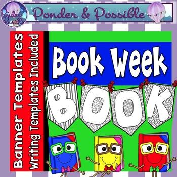 Book Week Banner Templates