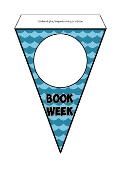 Book Week Bunting (for decorating)