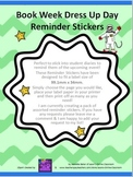 Book Week Dress Up Day Reminder Labels