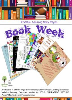 EYLF Book Week Editable Pack