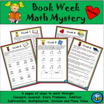 Book Week Math Mystery