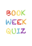 Book Week Quiz/Trivia